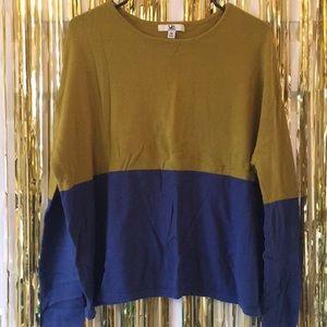 Duo-Toned Sweater